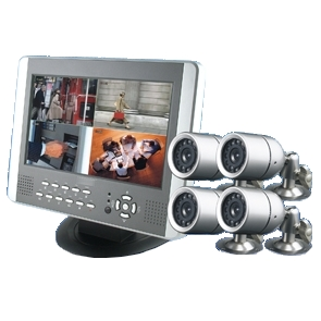 kit video surveillance. Black Bedroom Furniture Sets. Home Design Ideas