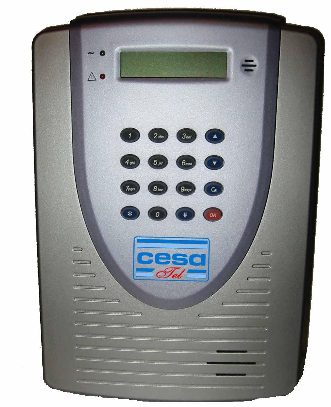 Clavier code liaison HF alarme