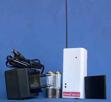 alarme signal radio installation