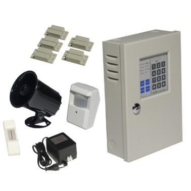 alimentation centrale alarme batterie