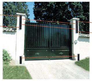 barriere infrarouge porte garage