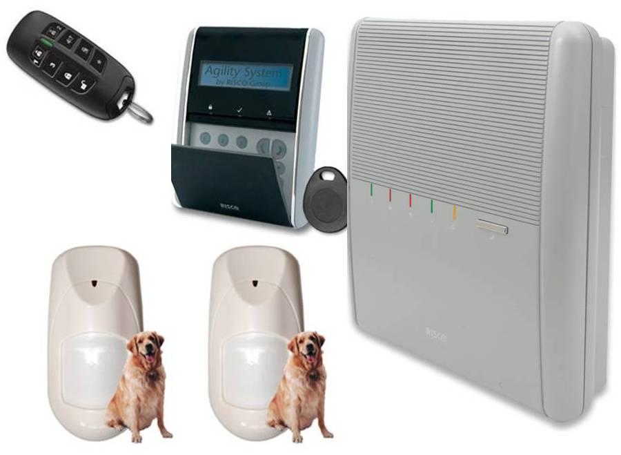domotique centrale d alarme telecommande