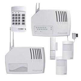 kit alarme sans fil parametres