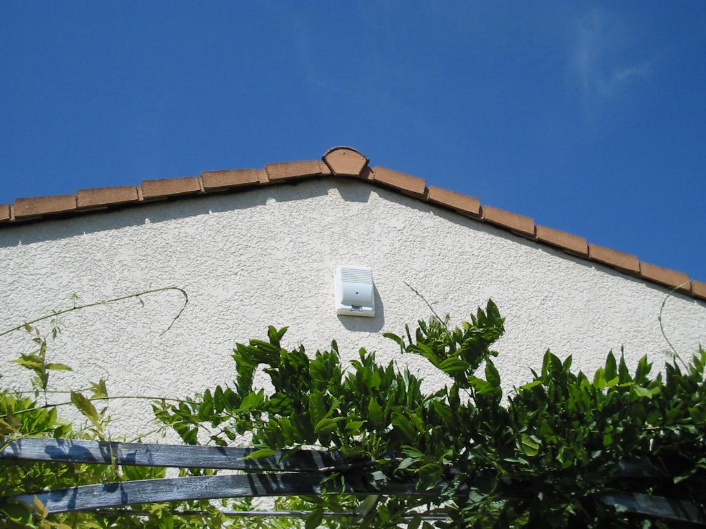 sirene exterieure installation