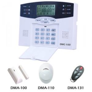 test centrale alarme sans fil